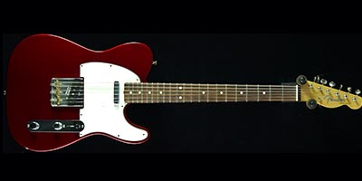 candy apple red telecaster