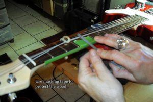 sharp fret fix